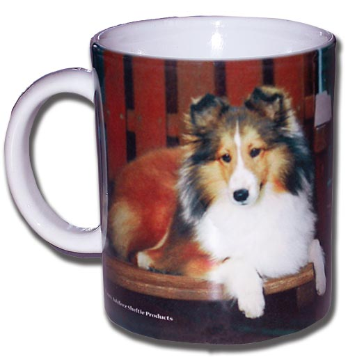 11 oz. Sable Sheltie Coffee Mug