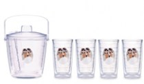 SHELTIE Tumblers & Ice Buckets