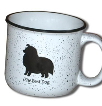 14 oz. The Best Dog Campfire Mug